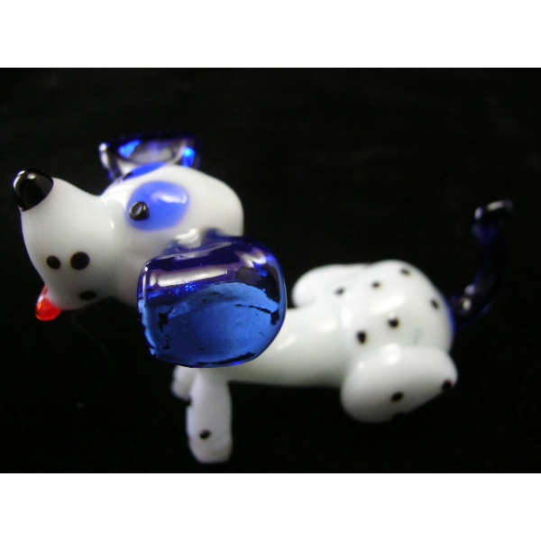 Hund Dalmatiner 2 - Glastier