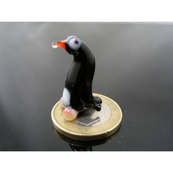 Pinguin mini -Glasfigur-Glastier k-1-