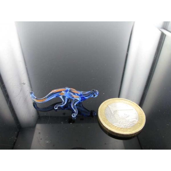 Gecko mini 1 - Glasfigur-k-11