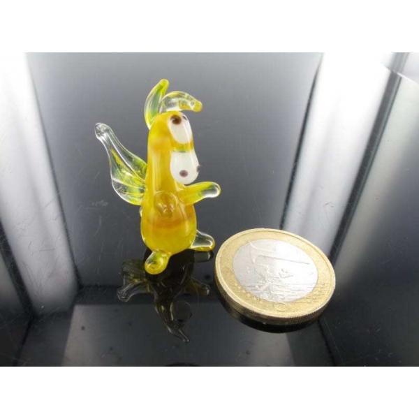 Drache mini gelb 8-Glastier -k-11