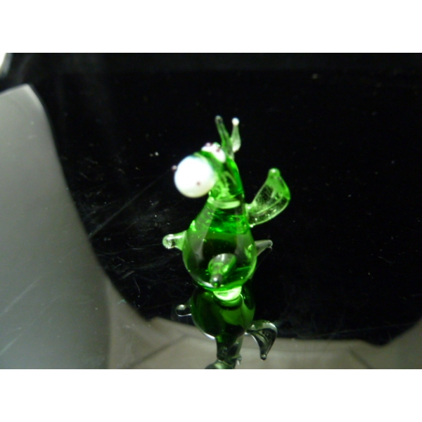 Drache - grün