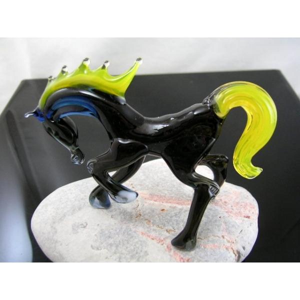 Pferd-Pferde-Glastier-Glasfiguren