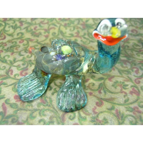 Schildkröte mit Brille - Glastier