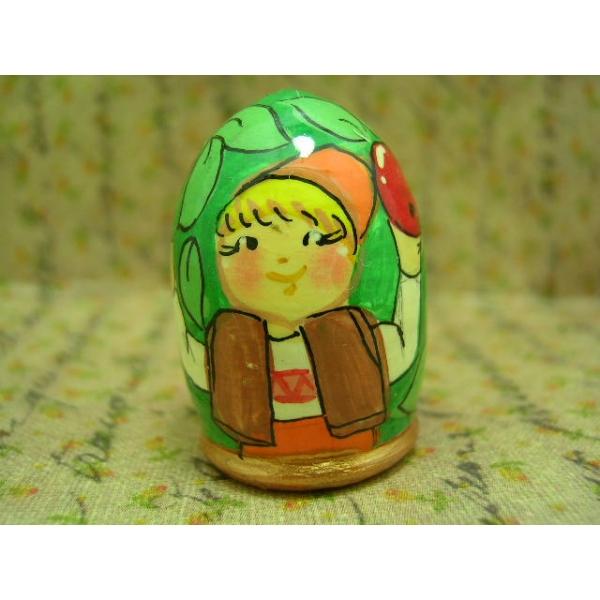 Fingerhut - Motiv Junge mit Apfel-12