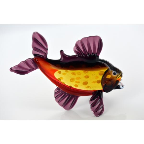 Piranjas-Piranha -Glasfigur-Glastier-Glasfiguren-b8-15-13
