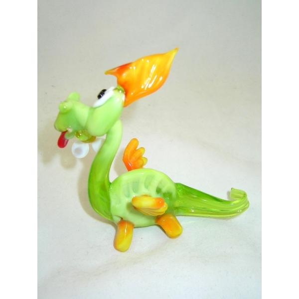 Drache -Dragon- Glasfigur- Glasfiguren-b6-14-2