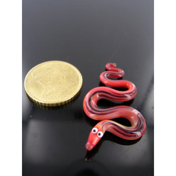 Schlange mini 1 - Glastier