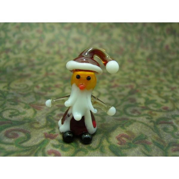 Weihnachtsmann - Glasfigur