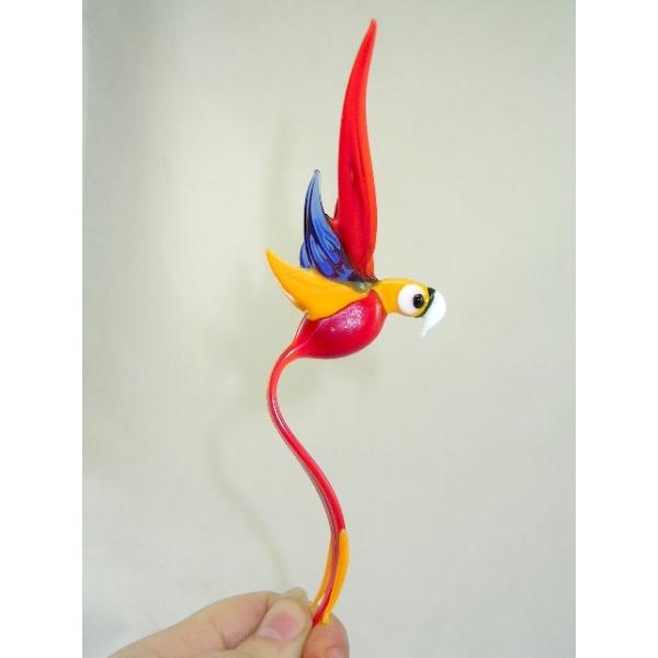 Papagei -Glasfigur-a-2
