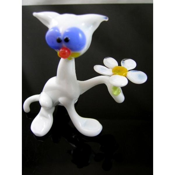 Katze-Katzen-Glasfigur-Glasfiguren-b1-6-1