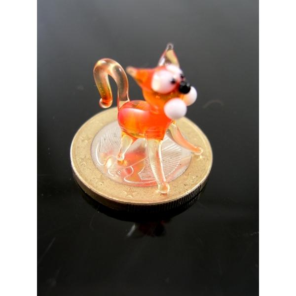 Katze 4 mini -Glastier-Glasfiguren-k-9