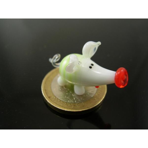Schwein mini 4 - Glastier
