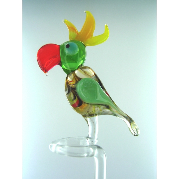 Orchideenstab - Blumenstab-Papagei classic-u-4