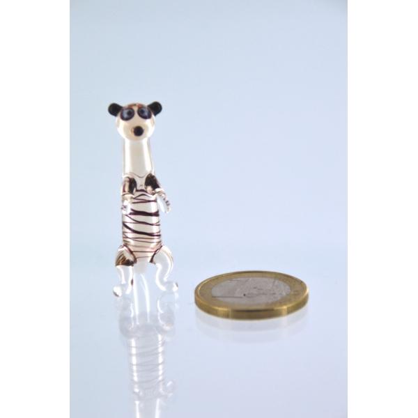 Erdmännchen mini 2 - Glasfigur