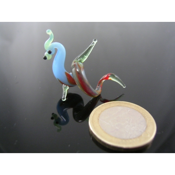 Drache mini 18-Glasfigur
