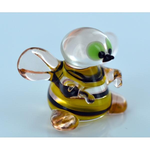 Biene-Glasfigur-Glastier-b8-12-34