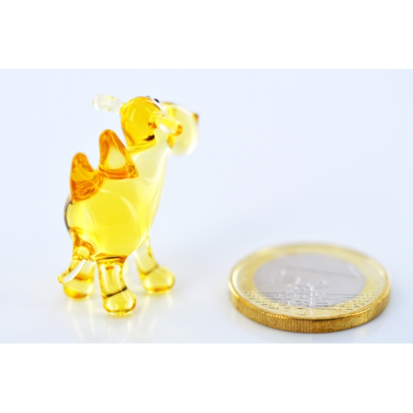 Kamel mini gold-Glasfigur-Glasminiatur-k-5