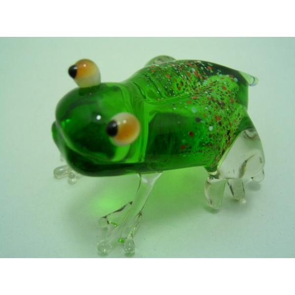 Frosch 1 - Glastier