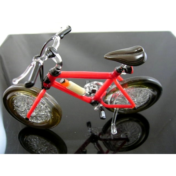Mountainbike - Fahrrad - aus Glas Meisterst