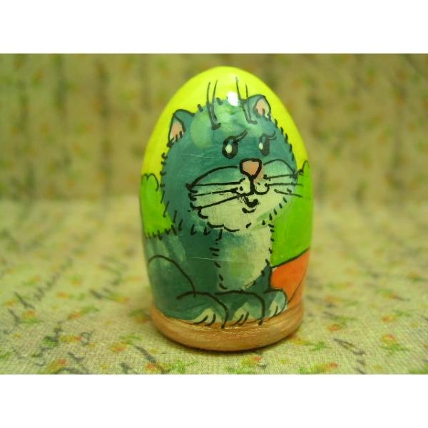 Fingerhut - Motiv Katze mit Luftballon-22
