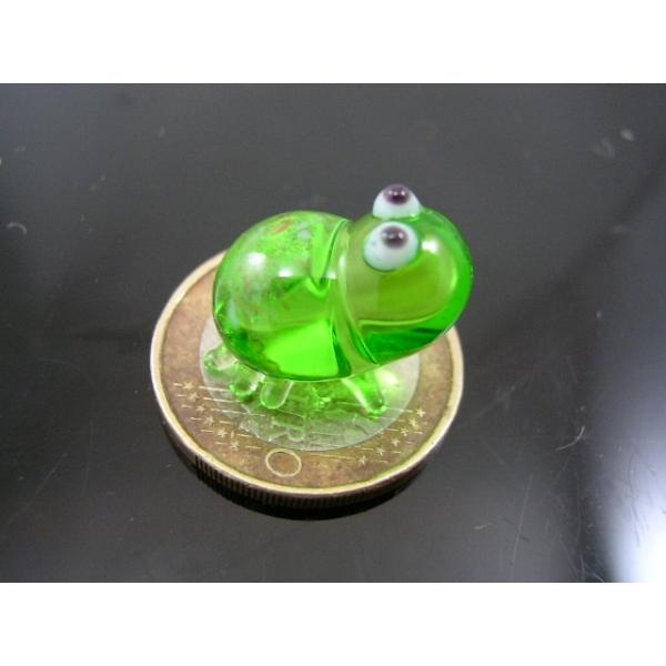 Frosch mini -Glastier-Glasfigur-k-2