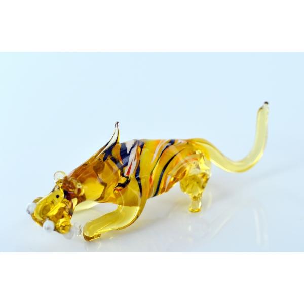 Tiger - Glasfigur - Glasfiguren- T-12