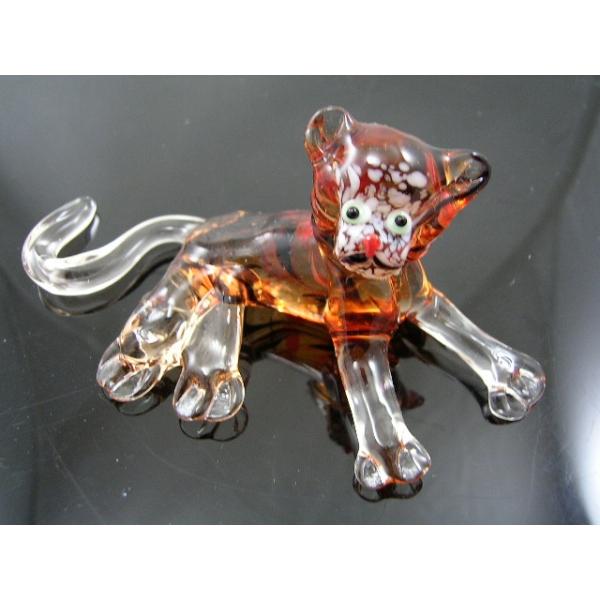Tiger-Baby-Glasfigur -Glastier-12-22
