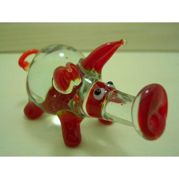Schwein 5 - Glastier