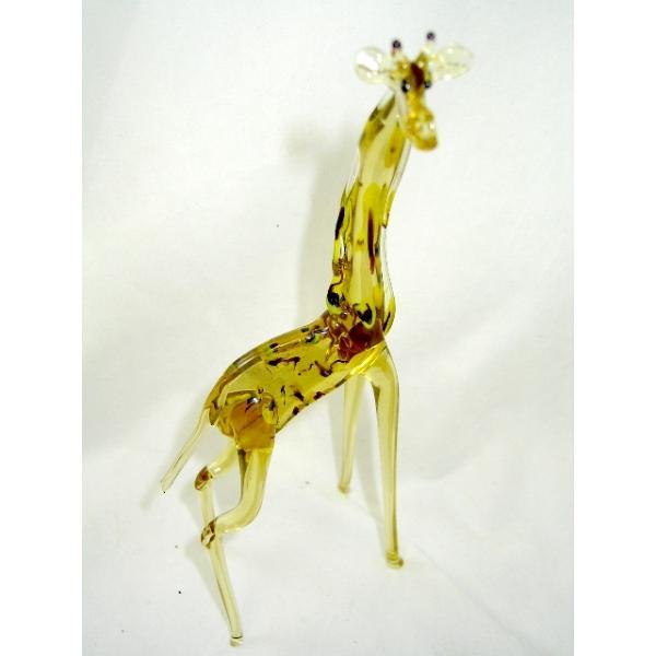 Giraffe - Glasfigur- Glastier -Glasfiguren- (y11)
