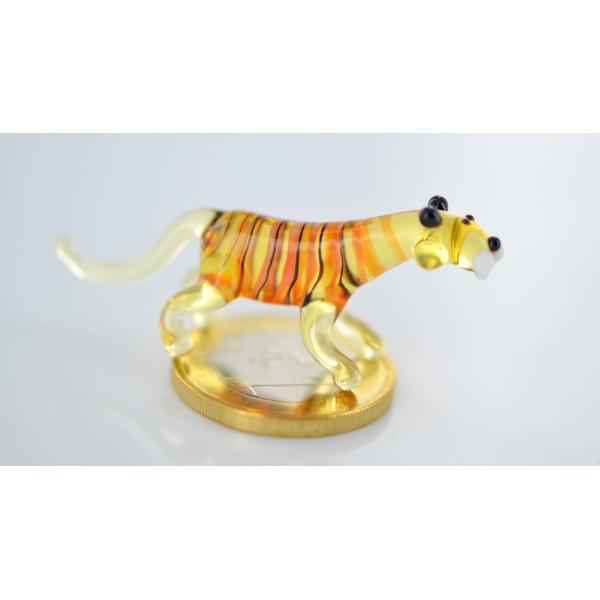 Tiger - Miniatur Glasfigur - Glastier