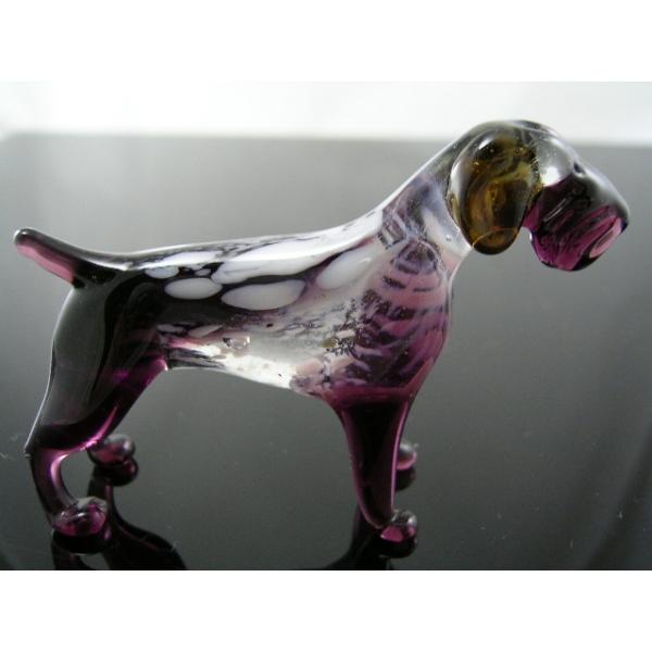Hund-Dog-Deutsch Drahthaar aus Glas-39-2