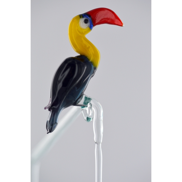 Tukan - Glasfigur Zum Einhängen 20cm - Glastier