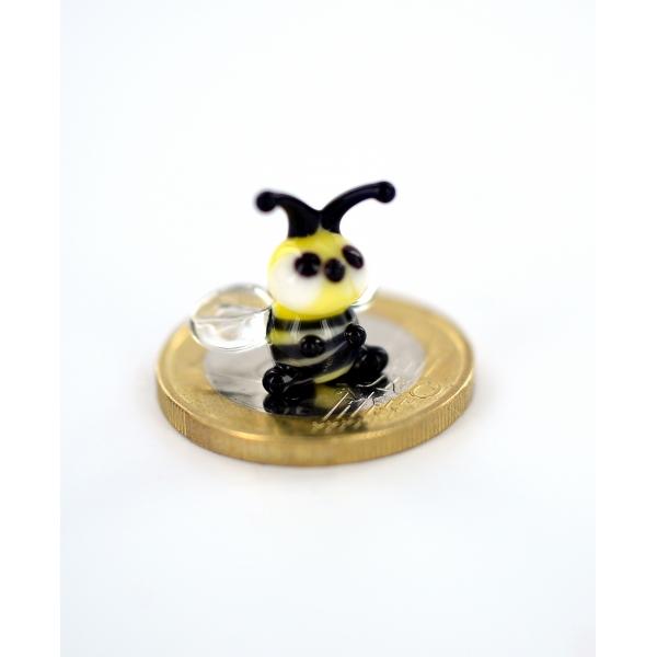 Biene - Honigbiene Miniatur Glasfigur - Glastier