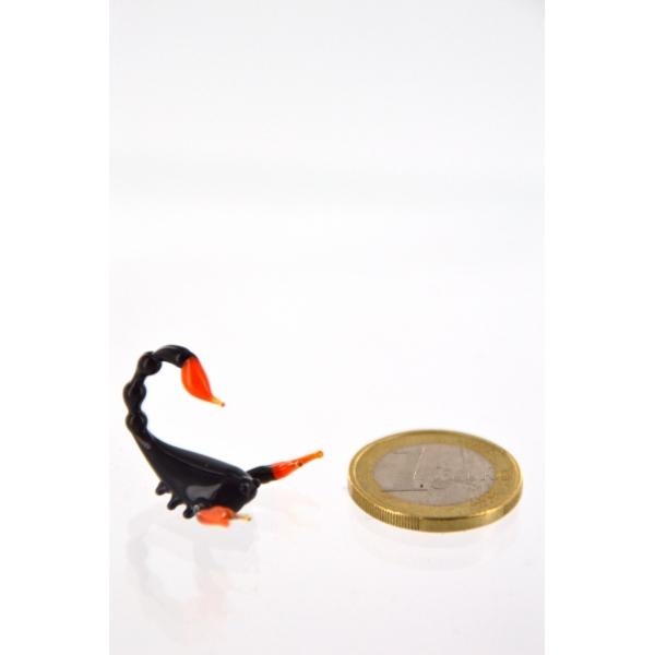 Skorpion mini schwarz - Glastier