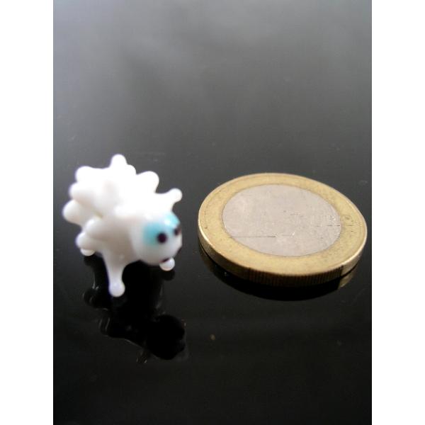 Schaf mini- Glasfigur-Glastier-k-4