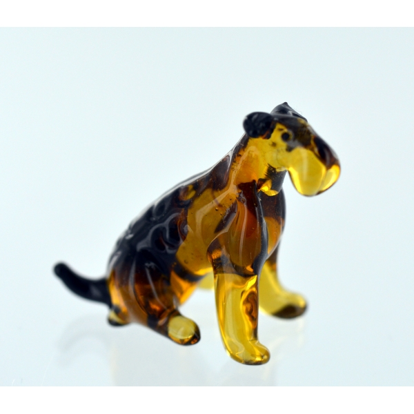 Airedale Terrier Glasfigur-b8-12-29