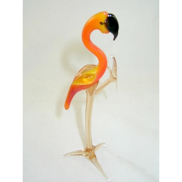 Flamingo - Glasfigur - Glasfiguren -b10-1-1