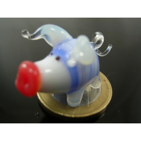 Schwein mini 8 - Glastier