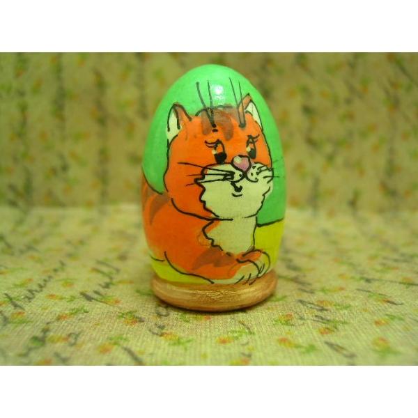 Fingerhut - Motiv Katze mit Schmetterling-17