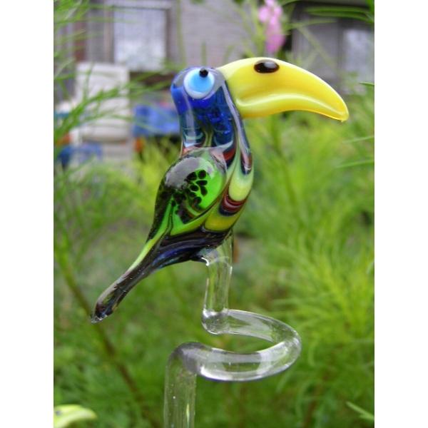 Tukan blau-Orchideenstab-Blumenstab-Rankhilfe u-9