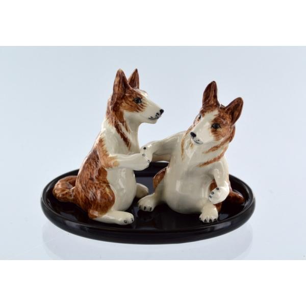 Salz- und Pfefferstreuer Hunde