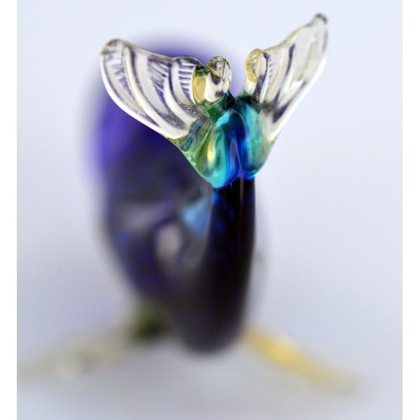Wal - Blauwal Glasfigur-Glastier