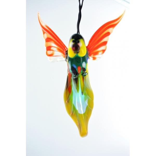 Papagei hängend