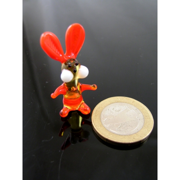Hase mini-Glasfigur-Glasfiguren-k-1