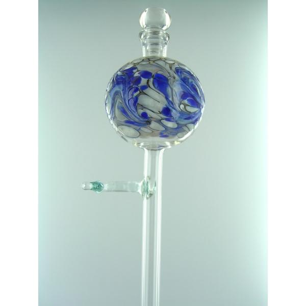 Blau-weiße Bewässerungskugel für Orchideen -21-01