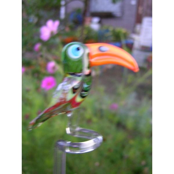 Tukan-Orchideenstab-Blumenstab-Rankhilfe-u-13
