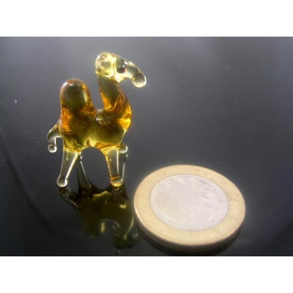 Kamel -Dromedar-mini-Glastier-Glasfigur-Glasfiguren-k-3