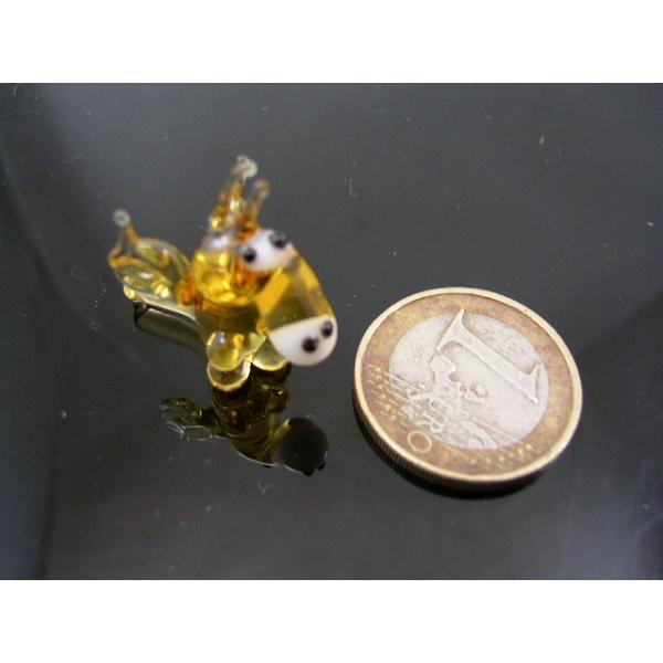 Drache gelb-Glastier-Glasfigur-k-2