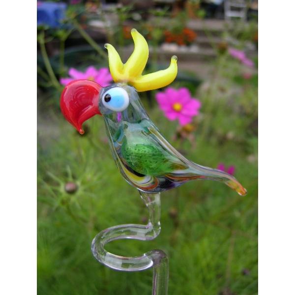 Papagei-Orchideenstab-Blumenstab-Rankhilfe