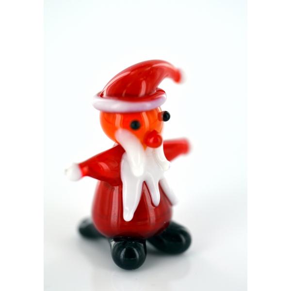 Weihnachtsmann - Santa Claus - Père Noël - Glas Kunst Lauscha